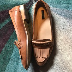 Shoemint Leather Loafer Flats size 11
